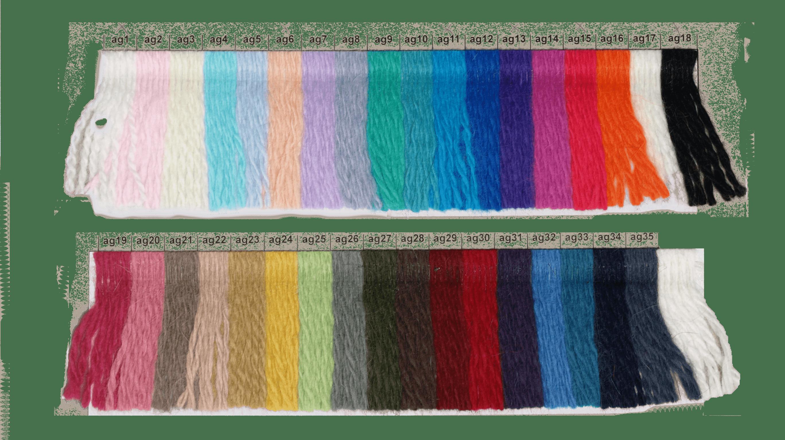 Angora-farvekort